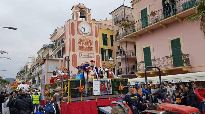 Carnevaloa 2020, il Palio dei Comuni