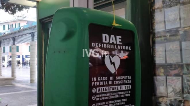 defibrillatore savona
