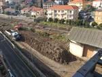 Detriti ex stazione Andora