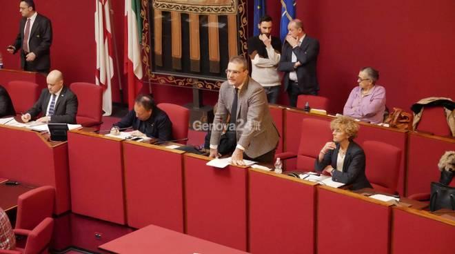 discussione prelimare bilancio sala rossa piciocchi presidenti municipio sala rossa