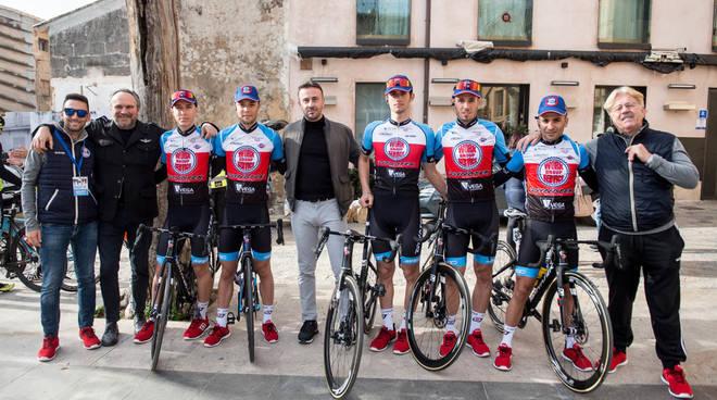 Federico Burchio, Raul Colombo, Dario Puccioni, Matteo Rotondi, Paolo Totò, Antonio Santoro e Francesco Zandri
