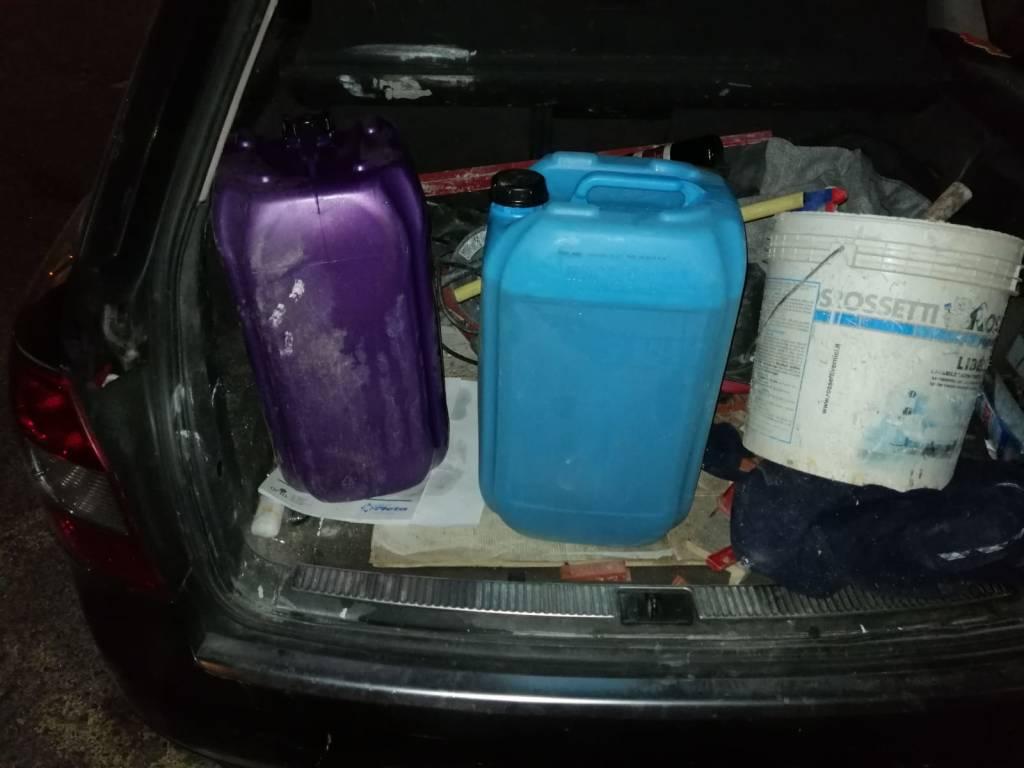 Furto Carburante Villanova