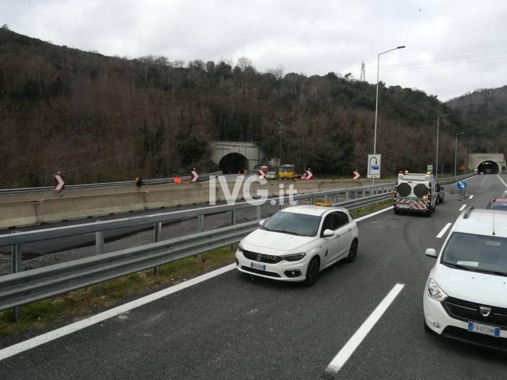 cantiere autostrada a6