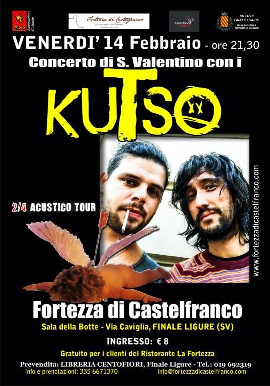 """2/4 Acustico Tour"" concerto Kutso Finale Ligure"