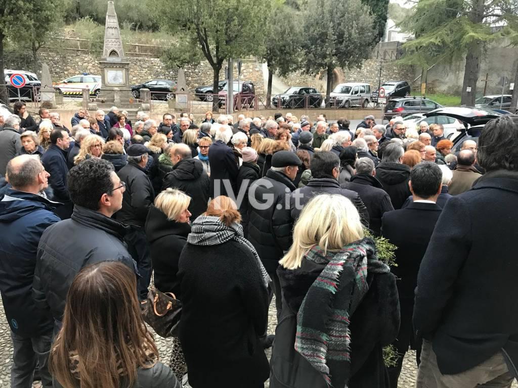 Il funerale di Angelo Navone