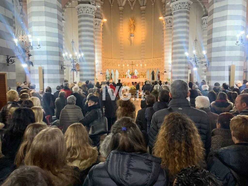 Il funerale di Mario Berruti