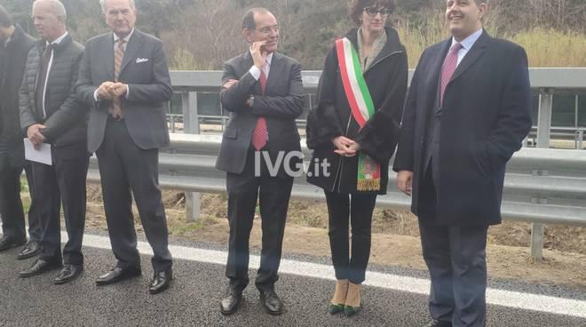 """Il nuovo viadotto """"Madonna del Monte"""" di Altare"""