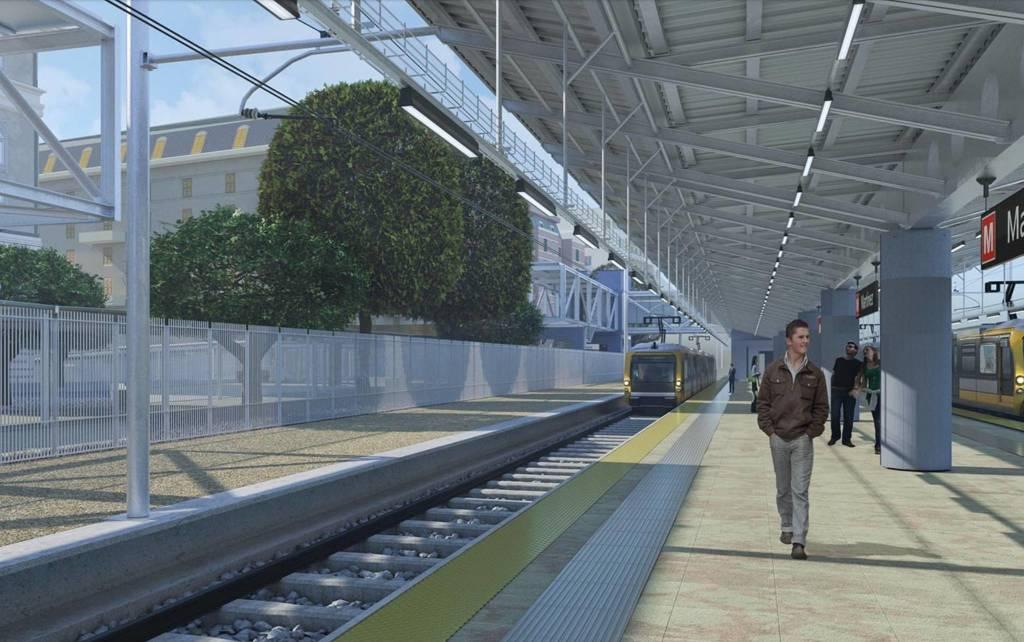 Metropolitana in piazza Martinez, il progetto della nuova stazione
