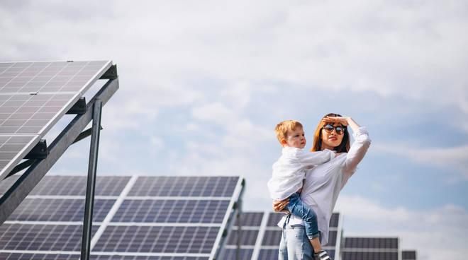 pannelli solari, green economy, energia pulita