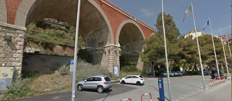 Passeggiata Cadorna parcheggio Alassio