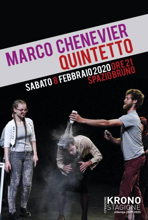 """""""Quintetto"""" spettacolo Marco Chenevier Albenga Spazio Bruno"""