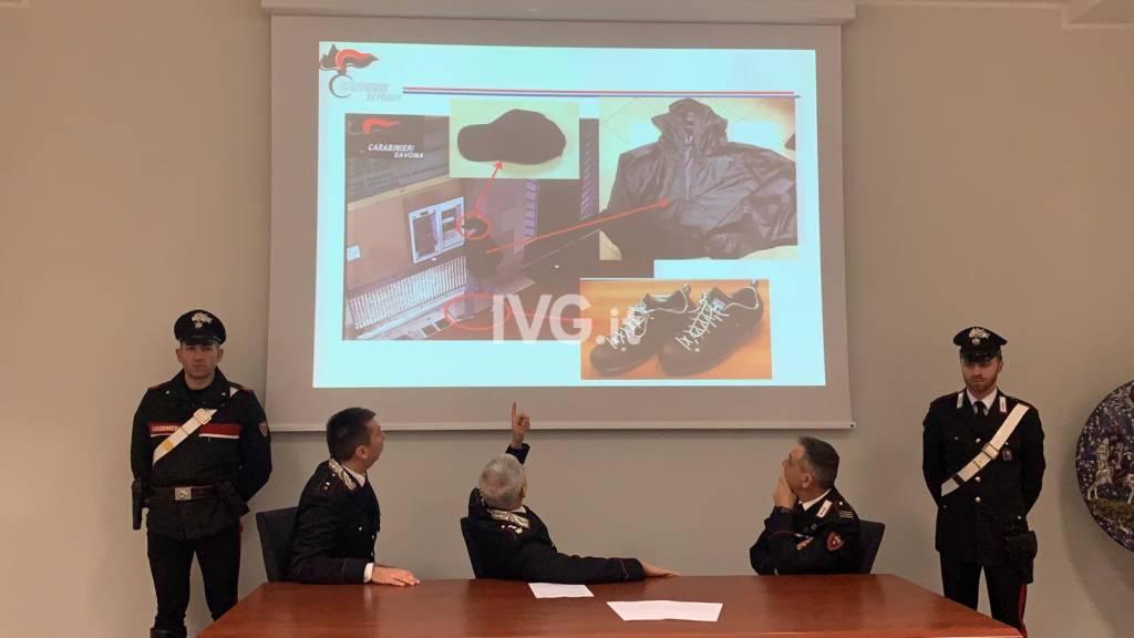 Rapina Cassa Risparmio Savona carabinieri