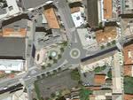 Rotatoria Albisola piazza Alighieri