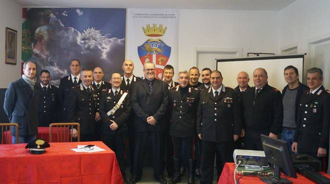 saluto carabinieri alassio