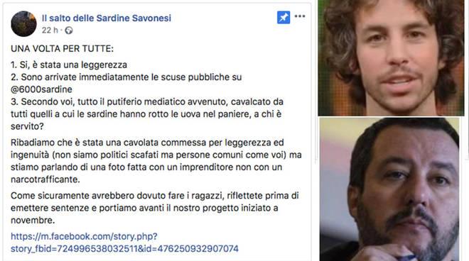 Sardine Savonesi Santori Salvini