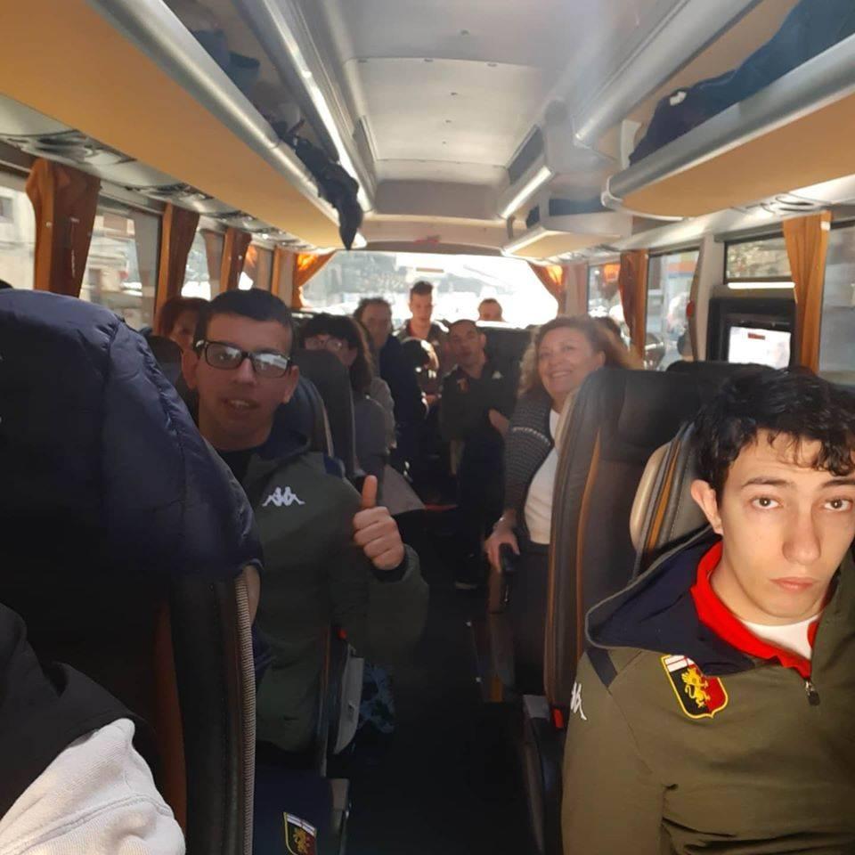 Sesta Categoria: il Genoa For Special nel derby con la Sampdoria