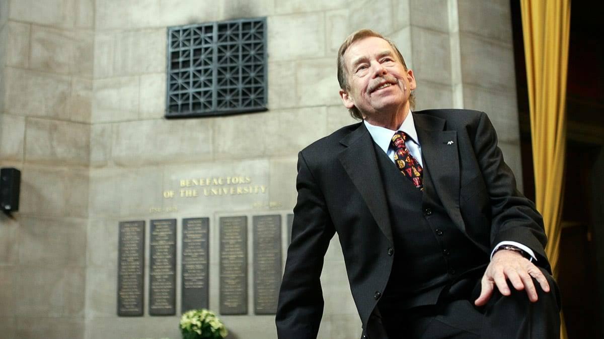 Vaclav Havel presidente Cecoslovacchia e Repubblica Ceca