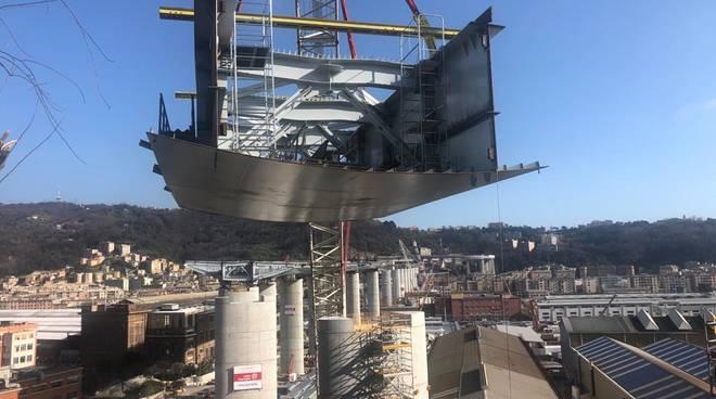Varo secondo concio spalla ponente nuovo ponte