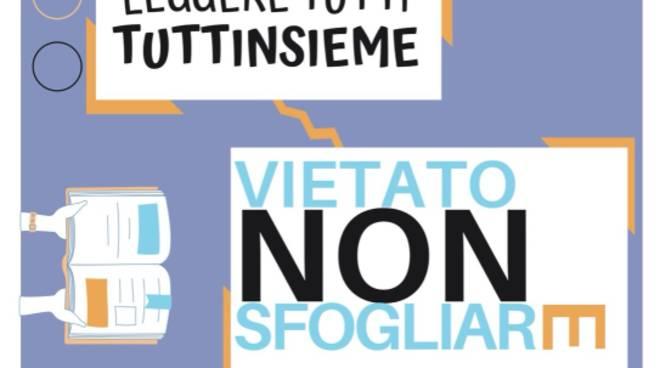"""""""Vietato Non Sfogliare"""" mostra libri disabilità Borghetto Santo Spirito"""