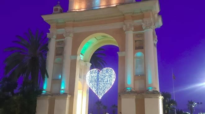 Arco di Spagna luci Finale