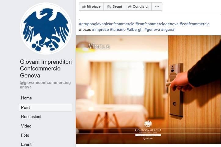 Emergenza  Coronavirus, il Gruppo Giovani Confcommercio Genova crea un focus sui vari settori via Facebook