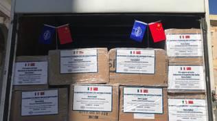 consegna mascherine cinesi