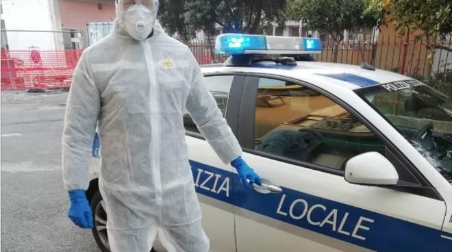 Controlli Coronavirus polizia