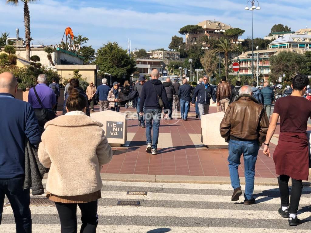 Corso Italia e coronavirus