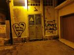 graffiti vandalismo pietra ligure