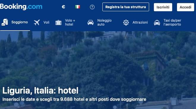 booking liguria