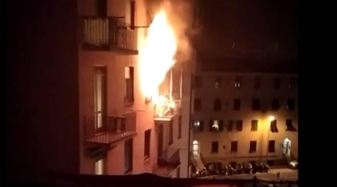incendio via sapeto
