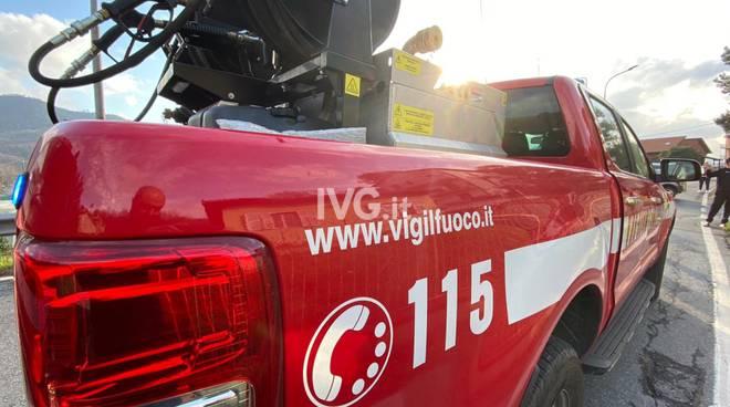 incidente stradale soccorsi generica vvff vigili del fuoco