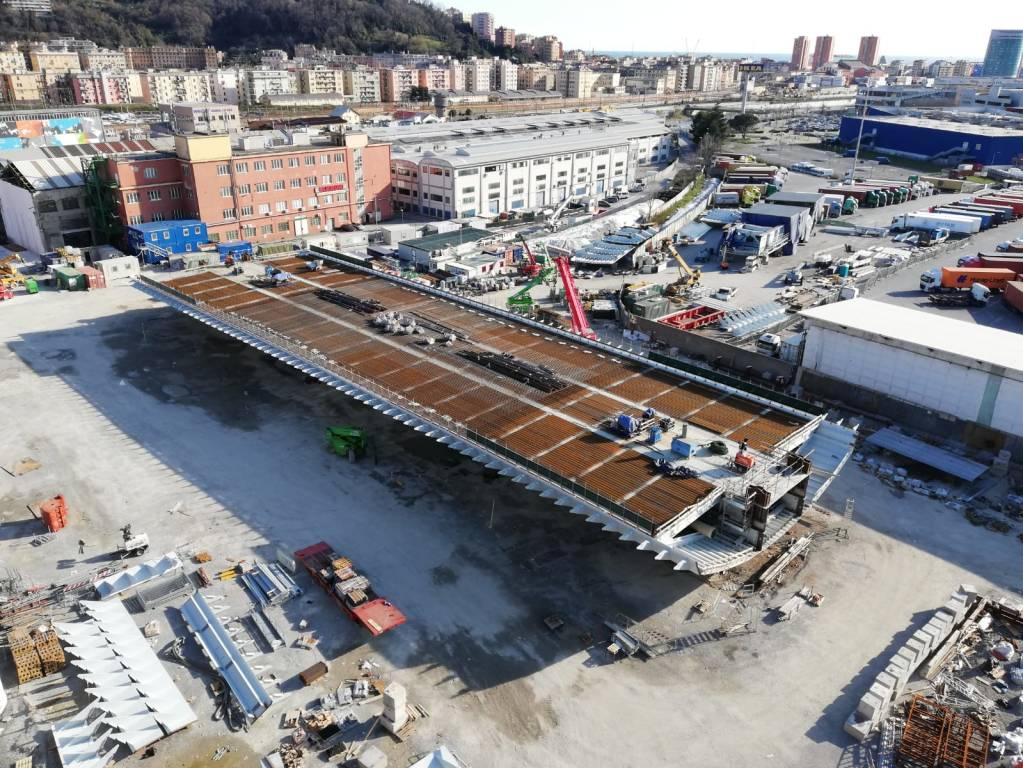 Lavori cantieri ponte 8 marzo