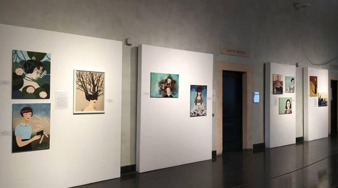 Mostra laboratorio artistico Unitre Loano Palazzo Doria