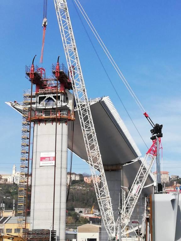 Nuovo ponte cantiere 17 marzo