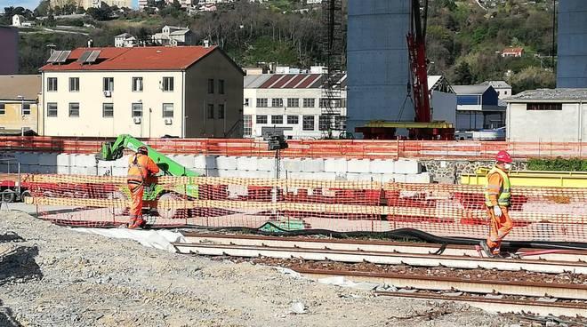 nuovo ponte cantiere 23 marzo