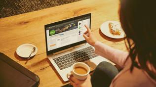 nuovo sito, computer, relax, casa, ufficio