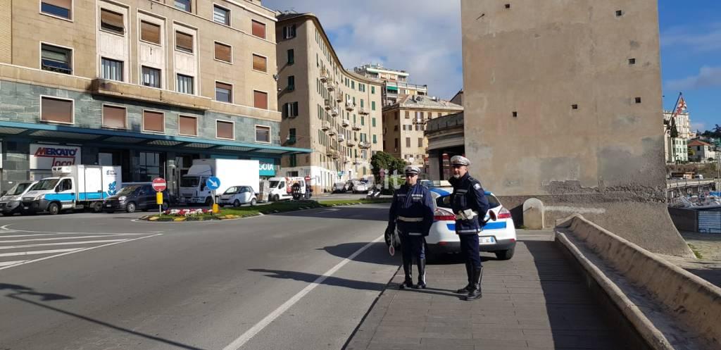polizia locale municipale controlli torretta Aurelia