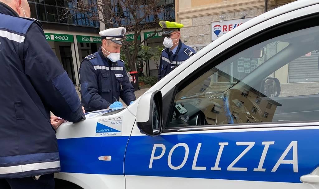 polizia locale vado controlli