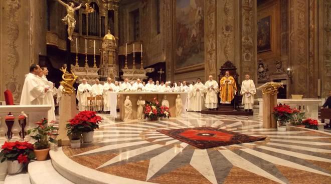 Santa Messa vescovo Calogero Marino Savona Cattedrale