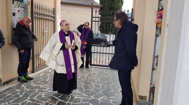 Vescovo Borghetti Tomatis cimitero Albenga