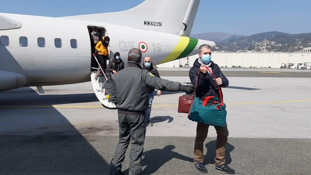 """Arriva a Genova la task force nazionale """"Infermieri per Covid"""""""