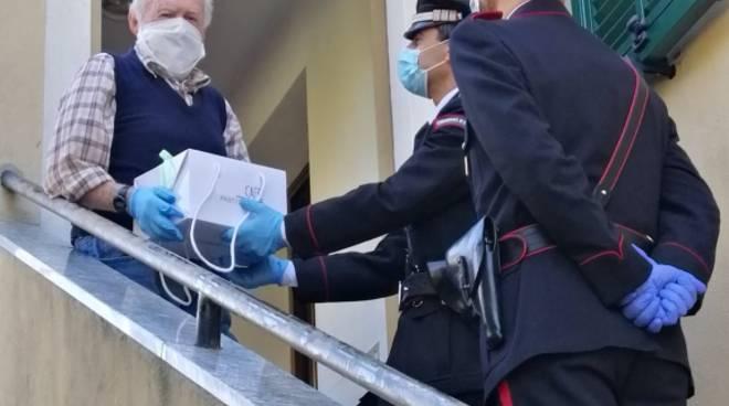 Carabinieri anziani coronavirus