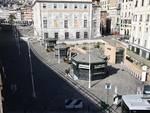 Coronavirus, le immagini di Genova deserta nel giorno di Pasqua