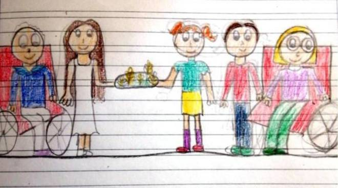disegni bambini pasqua