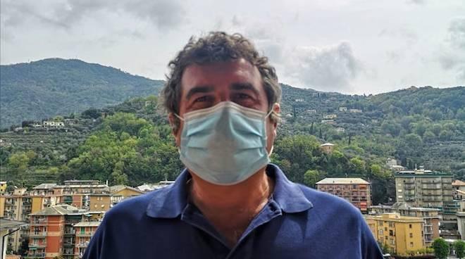 Franco Senarega mascherina