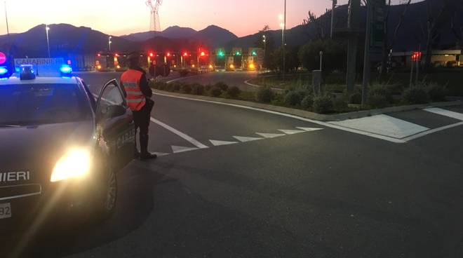 Controlli Carabinieri Casello