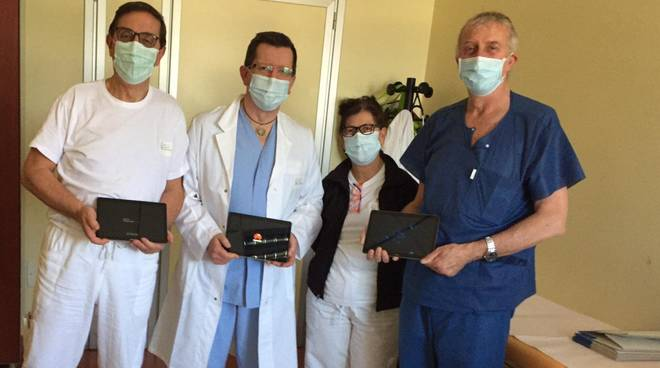 Tablet Rotary Ospedale Albenga