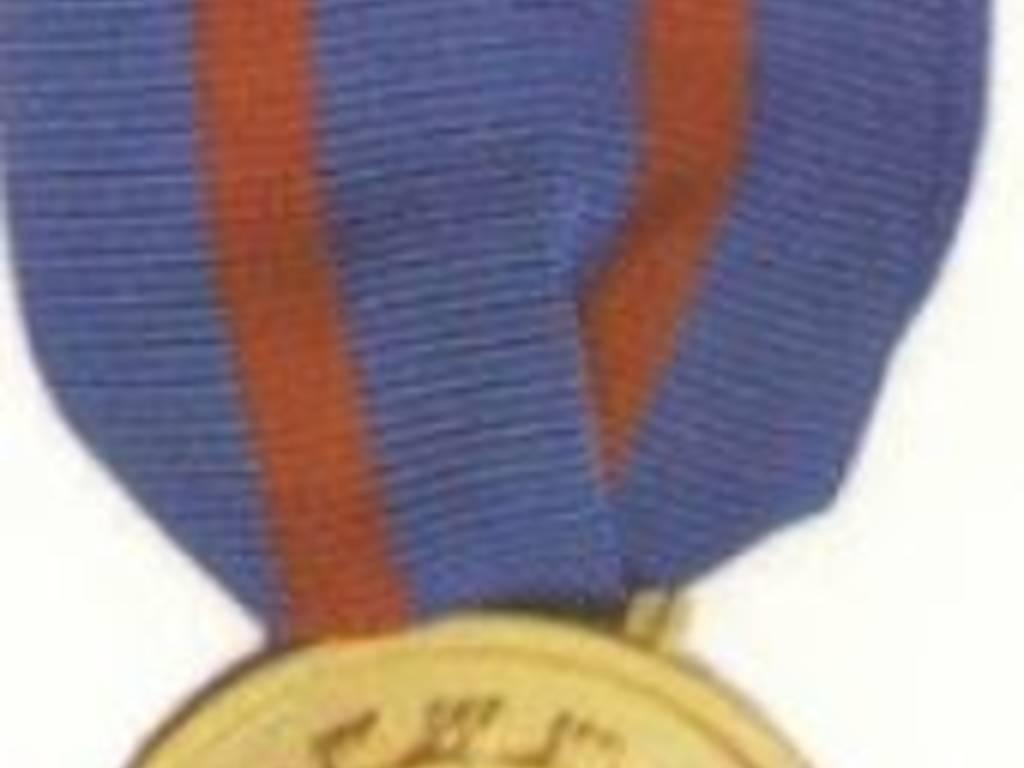 Ricardo Preve medaglia d'oro marina