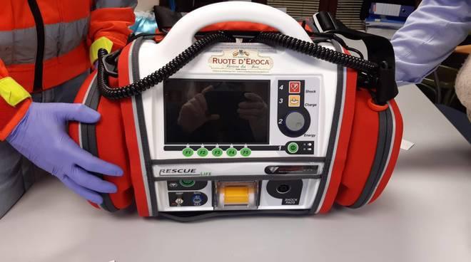 defibrillatore portatile Albenga